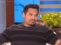 《艾伦秀第14季片花》第一百一十九期 迈克尔佩特现场秀内裤 尴尬讲述脸咚私处细节