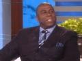 《艾伦秀第14季片花》第一百三十九期 约翰逊曝奥巴马赢比赛爱炫耀 谈儿子出柜称理解