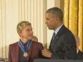 《艾伦秀第14季片花》第一百四十六期 艾伦忆公开出柜往事 回放获奥巴马颁勋章视频