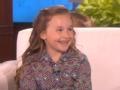 《艾伦秀第14季片花》第一百五十期 7岁梅西给宠物狗起总统名 自制特朗普饭盒获赞