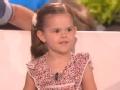 《艾伦秀第14季片花》第一百五十七期 4岁小萝莉克服恐惧救瓢虫 与爸爸合唱秀唯美嗓音