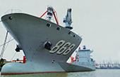 中国海军派何舰开赴吉布提