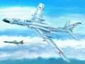 苏联图-16坠毁美军航母前