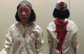 女大学生云南昆明旅游被打缝6针