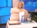 《艾伦秀第15季片花》S15E12 梅根穿肥大相扑装劈叉热舞