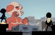 进击的巨人乱入泰坦陨落?