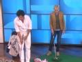《艾伦秀第15季片花》S15E34 内亚为筹款与艾伦对战高尔夫