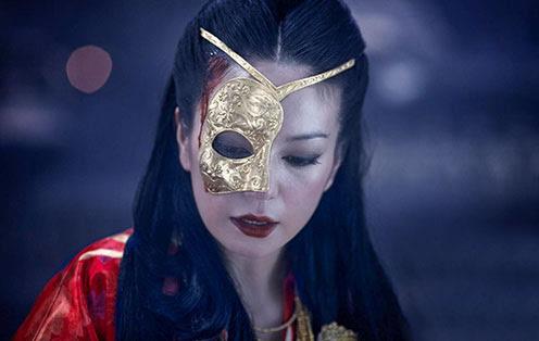 契丹沉睡公主的黄金面具