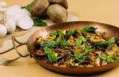 菌菇烤着吃口感更酥软