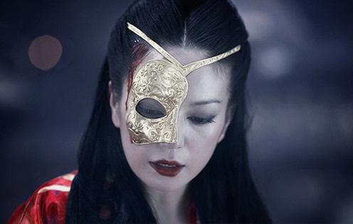 契丹公主神秘的黄金面具