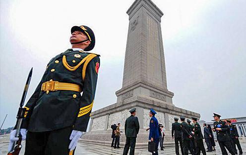人民英雄纪念碑传奇故事