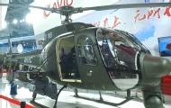 武装直升机挂载无人机