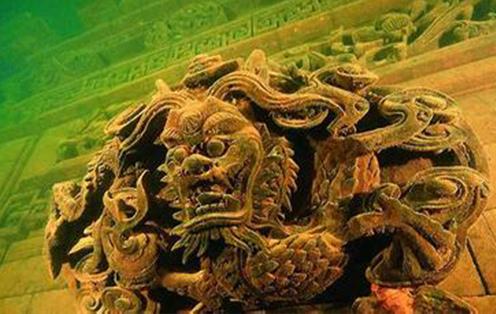 千岛湖底的千年水下古城