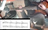 电吉他教学:推弦释放