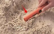 这小棍子能找到地下宝藏!