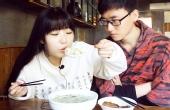 杭州吃美味超大版馄饨