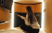 日本女性专用胶囊旅馆