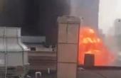 天津西青区一药厂发生爆炸