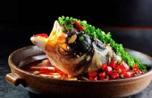 新鲜美味的剁椒鱼头
