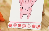 手工DIY:弹跳小兔