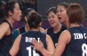 亚运会女排5连胜3-0印度