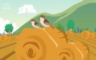 為什么麻雀只能跳著走?