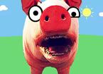 當你變成了一只豬!真實版小豬佩奇