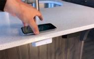 手机放桌上就能充电?