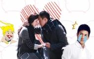 佟大为、刘诗诗激情热吻