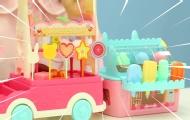 超可愛的糖果冰激凌售賣車