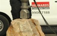小机器竟能劈开400吨岩石?