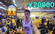NBA总决赛门票20000元?