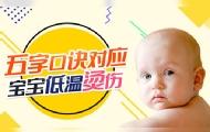 五字口訣應對寶寶燙傷