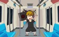 小伙抱怨地鐵上乘客沒素質