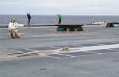 福特号航母测试电磁弹射器