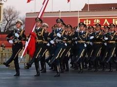 国旗护卫队:护卫国旗,重于生命
