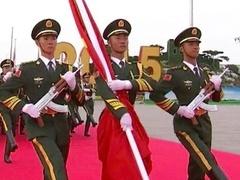 国旗护卫队:见证一个个刻骨铭心的历史节点
