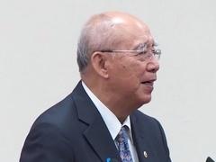 江启臣9日正式宣誓就职国民党主席