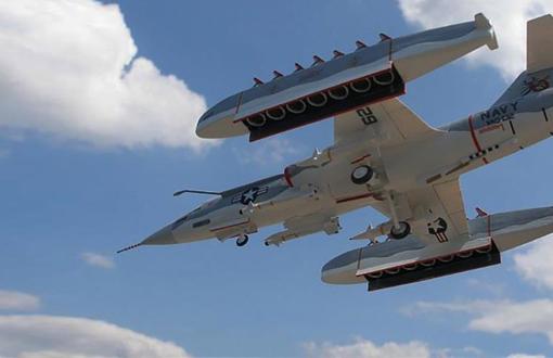 战斗机装了15个发动机