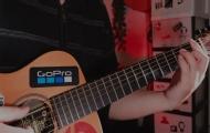 吉他彈唱《月牙灣》