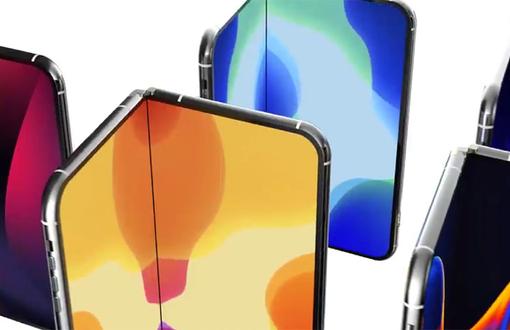 苹果也推出折叠屏手机