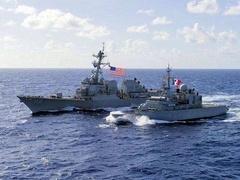 """日本为""""出云""""号航母编队谋求远洋能力"""