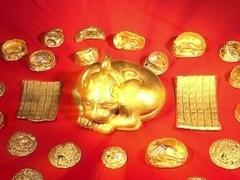 中国神秘宝藏,国宝黄金兽身世之谜