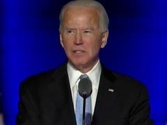 拜登以当选总统身份发表全美讲话
