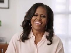 米歇尔讲述与奥巴马相处日常 高度赞扬拜登总统