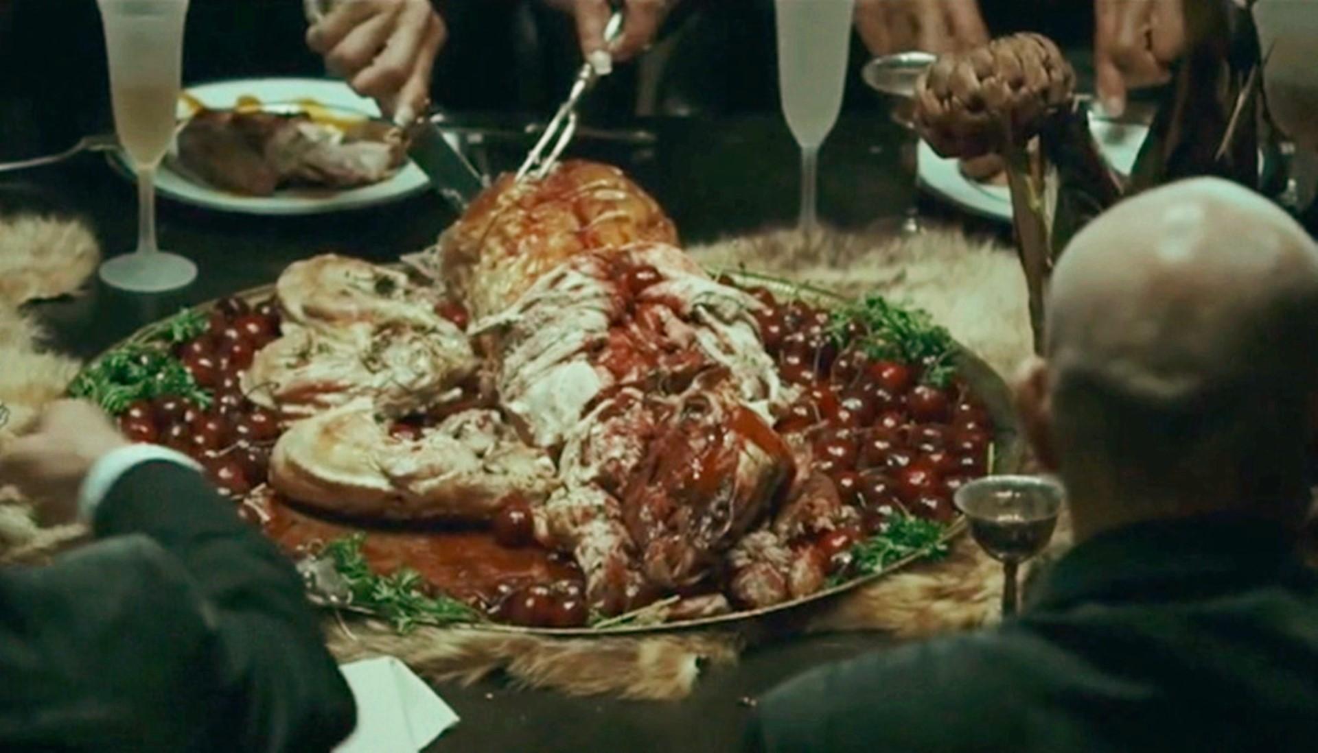 人类毫无节制地享用美食,受到大自然惩罚,最终被打入18层地狱