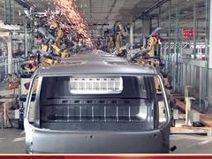 重温汽车工业发展史  油压机见证新红军精神