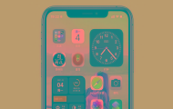 iPhone時間欄添加小圖標