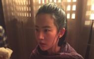 刘亦菲晒水戏照片超美