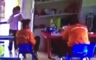 幼师强迫孩子舔老师的餐盘